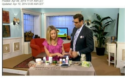 NBC morning show segment features natural energy-boosting tips
