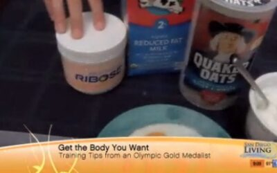 San Diego morning TV show features Olympic gold medalist's fitness tips